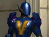 Kickboxer in armor