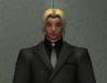 Agent Raphael in a suit